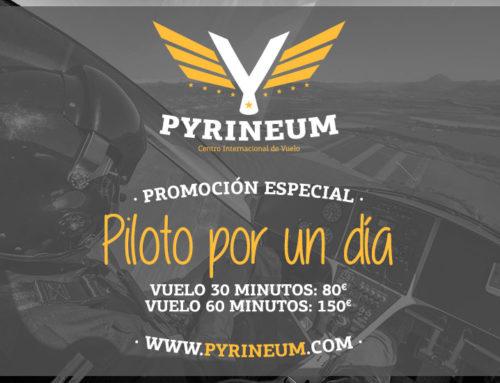 """Promoción especial para ser """"Piloto por un día"""""""