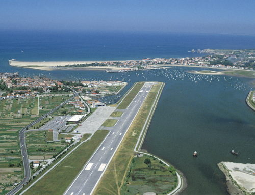 !! DE ESTRENO ¡¡ Pyrineum aterriza en el Aeropuerto Internacional de San Sebastián-Donostia.